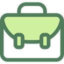 school, Briefcase, education, Bag, portfolio, Tools And Utensils, School Material, Office Material, Book Bag DimGray icon