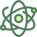 nuclear, Electron, physics, science, Atomic, education DimGray icon