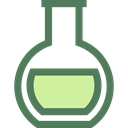 Flasks, flask, chemical, Tools And Utensils, Test Tube, science, education, Chemistry DimGray icon