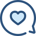 Conversation, Communications, Multimedia, Chat, Communication, speech bubble DarkSlateBlue icon