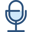 sound, Microphone, radio, technology, vintage, Communications, Voice Recording DarkSlateBlue icon