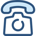 telephone, interface, technology, Communication, Conversation, Communications, phone call DarkSlateBlue icon