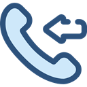 telephone, technology, phone receiver, Communication, Communications, phone call, Incoming Call DarkSlateBlue icon