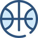 Basketball, team, equipment, sports, Sport Team, Sports And Competition DarkSlateBlue icon