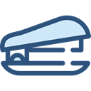 education, stapler, Tools And Utensils, School Material, Office Material DarkSlateBlue icon