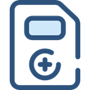 hospital, Medical Result, Healthcare And Medical, documents, medical, notepad, files DarkSlateBlue icon
