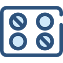 Remedy, Healthcare And Medical, medical, Pill, medicine, healthcare, pills, healthy, heal, Medicines DarkSlateBlue icon