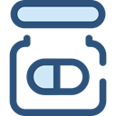 Healthcare And Medical, medical, Pill, medicine, healthcare, pills, healthy, heal, Medicines, Remedy DarkSlateBlue icon