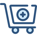 commerce, shopping cart, Supermarket, online store, Shopping Store, Commerce And Shopping DarkSlateBlue icon