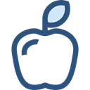 food, Fruit, organic, diet, Apple, vegetarian, vegan, Healthy Food Black icon
