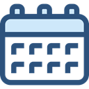 Schedule, interface, education, Administration, Organization, Calendars, Calendar, time, date DarkSlateBlue icon