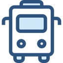 Public transport, transport, vehicle, school bus, Automobile, education, transportation DarkSlateBlue icon