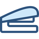 Office Material, education, stapler, Tools And Utensils, School Material DarkSlateBlue icon