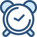 timer, alarm clock, Tools And Utensils, Clock, time DarkSlateBlue icon