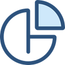 Business, Stats, statistics, marketing, Pie chart, finances, graphical, Business And Finance DarkSlateBlue icon