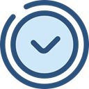 watch, timer, Circular Clock, Round Clock, Time And Date, time DarkSlateBlue icon