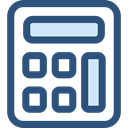 finances, Business And Finance, tool, calculator, Business, calculate, buttons DarkSlateBlue icon