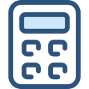 calculate, buttons, finances, Business And Finance, tool, calculator, Business, education DarkSlateBlue icon