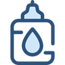 Glue, Bottle, liquid, Tools And Utensils, Edit Tools DarkSlateBlue icon