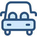 vehicle, Automobile, Car, transportation, transport DarkSlateBlue icon