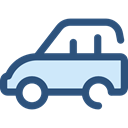 Car, transportation, transport, vehicle, Automobile DarkSlateBlue icon