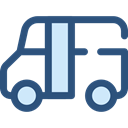 Automobile, Public transport, transportation, transport, vehicle, Bus DarkSlateBlue icon