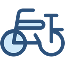 vehicle, sports, Bike, Bicycle, sport, transportation, transport, cycling, exercise DarkSlateBlue icon