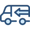 Delivery, transportation, truck, transport, vehicle, Automobile, Delivery Truck, Cargo Truck, Shipping And Delivery DarkSlateBlue icon