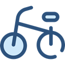 sport, transportation, transport, vehicle, exercise, sports, Bike, Bicycle, cycling DarkSlateBlue icon
