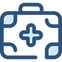 doctor, medical, hospital, first aid kit, Health Care, Healthcare And Medical DarkSlateBlue icon