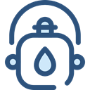 flask, water, Food And Restaurant, Bottle, thirst, canteen, Tools And Utensils DarkSlateBlue icon
