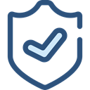 security, Antivirus, shield, defense, secure DarkSlateBlue icon