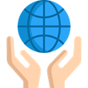 Planet Earth, Ecologic, Ecology And Environment, Hand, Hands, ecology, Ecological DodgerBlue icon