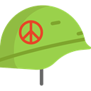 security, helmet, Protection, soldier, war, weapons YellowGreen icon