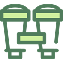 miscellaneous, Binoculars, Eye, sight, binocular, see, spy, Goggles DimGray icon