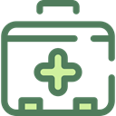 doctor, medical, hospital, first aid kit, Health Care, Healthcare And Medical DimGray icon