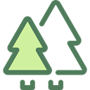 trees, pines, nature, landscape, Forest, woods DimGray icon