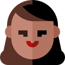 user, woman, profile, Avatar, Social SaddleBrown icon