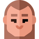 Man, user, profile, Avatar, Social DarkSalmon icon