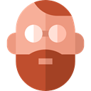Man, user, profile, Avatar, Social Sienna icon