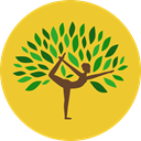 Poses, Sports And Competition, Yoga, exercise, pilates, Relaxing Goldenrod icon