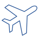 airplane, journey, departure, Airport, travel, flight Black icon