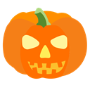 halloween, pumpkin, horror, Holiday, Holidays DarkOrange icon
