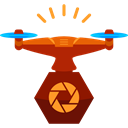 transportation, transport, fly, electronics, Remote control, drone Icon