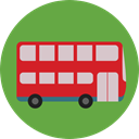 vehicle, Bus, Automobile, Public transport, transportation, transport OliveDrab icon