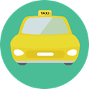 Car, Cab, transportation, transport, vehicle, taxi, Automobile CadetBlue icon