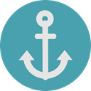 miscellaneous, Anchor, sailing, sail, navy, tattoo, Tools And Utensils, Anchors CadetBlue icon