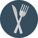 food, kitchen, Cutlery, Eating, Cooking, utensils, Food And Restaurant DarkSlateGray icon
