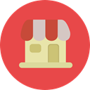 Shop, Architecture And City, Commerce And Shopping, food, Business, store, commerce Tomato icon