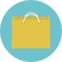 commerce, shopping, Bag, shopping bag, Supermarket, Shopper, Commerce And Shopping, Business MediumAquamarine icon